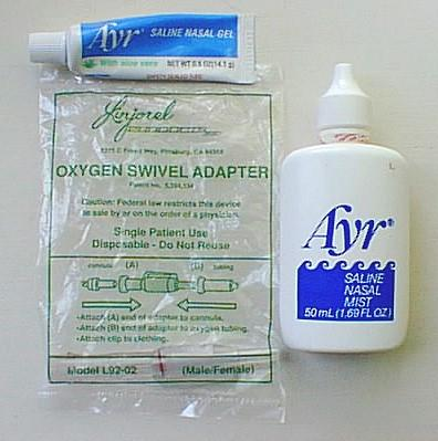 Ayr Spray and Gel and Linjorel Swivel Adapter
